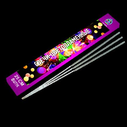Цветные бенгальские огни (TKR025)